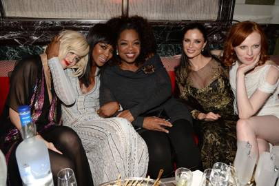 Rita Ora, Naomi Campbell,Oprah Winfrey, Georgina Chapman and Karen Elson