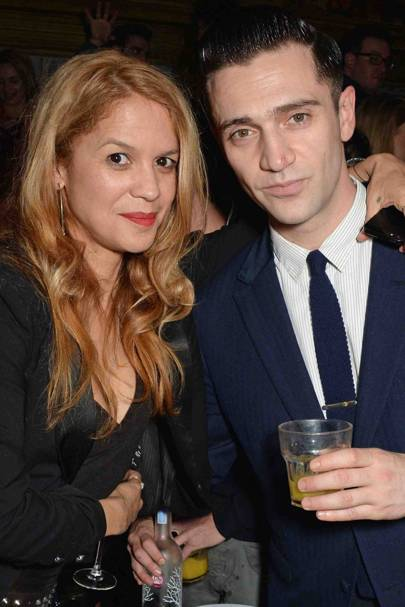 Lisa Moorish and Reg Traviss