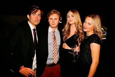 Casey Larsen, Emile Rees, Emma Laurent and Maria Haraldson