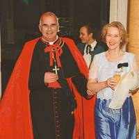 Cardinal Keith Patrick O'Brien and Mrs Peter McCann