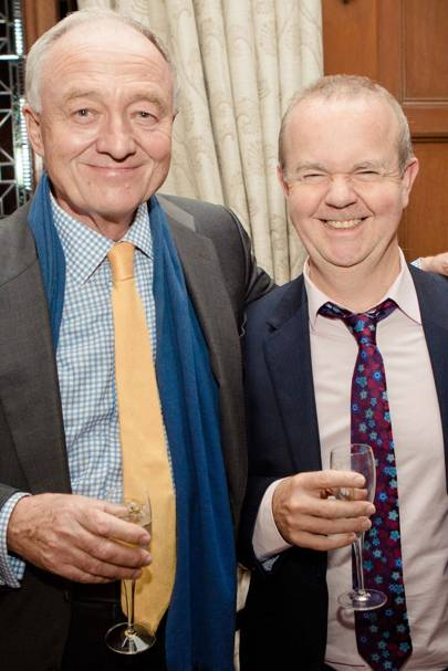 Ken Livingstone and Ian Hislop
