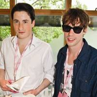 Blaise Patrick and Johnny Borrell