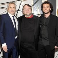 Alfonso Cuaron, Guillermo Del Toro and Jonas Cuaron