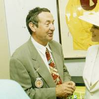 Nick Mason and Countess of March and Kinrara