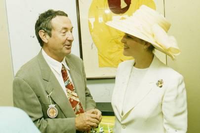 Nick Mason and Countess of March and Kinrara