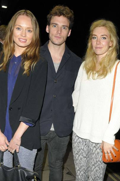 Laura Haddock, Sam Clafin and Vanessa Kirby