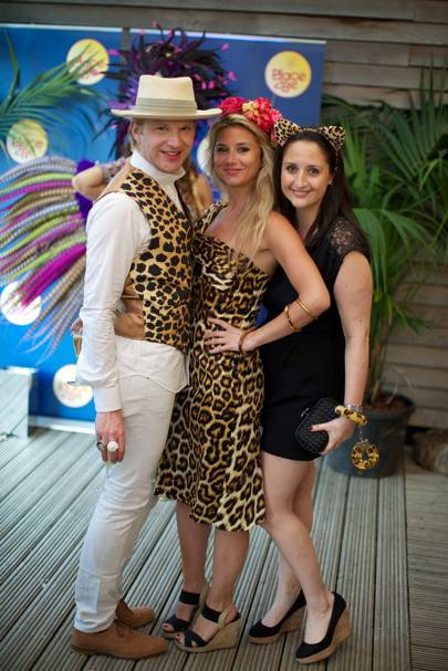 Henry Conway, Stephanie Bilet and Laura Graham