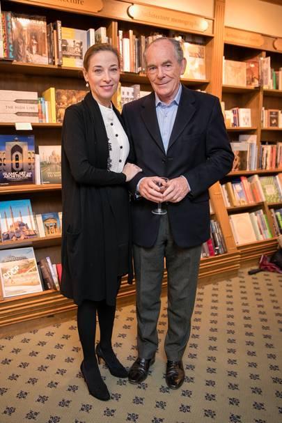Lady Jenkins and Sir Simon Jenkins