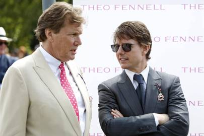 Theo Fennell and Tom Cruise