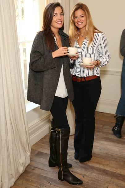 Amanda Sheppard and Serena Hood