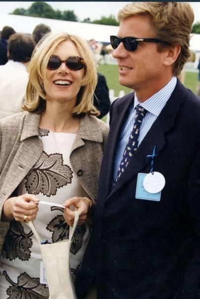 Mrs Robert Hersov and Robert Hersov