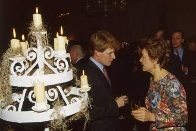 Peter Stanley and Lady Howard de Walden
