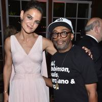 Katie Holmes and Spike Lee
