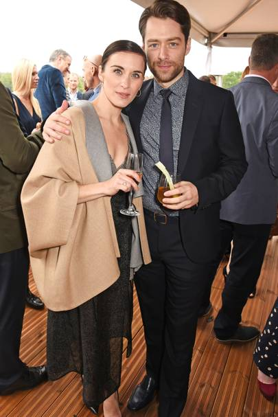 Vicky McClure and Richard Rankin