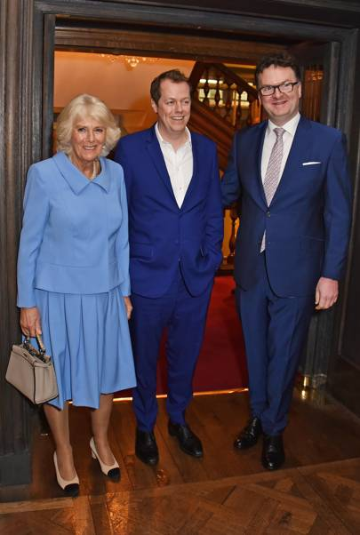Camilla, Duchess of Cornwall, Tom Parker Bowles and Ewan Venters