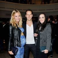 Zoe Cole, Brendan Cole and  Victoria Pendleton