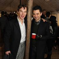 Benedict Cumberbatch and Dominic Cooper