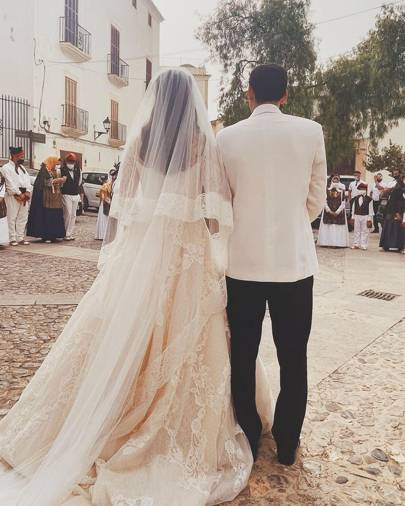 Boda Paola Fendi y Aram Ahmed