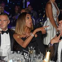 Dean Caten, Jourdan Dunn and Dan Caten