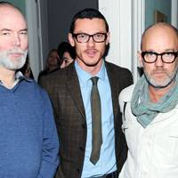 Douglas Coupland, Luke Evans and Michael Stipe
