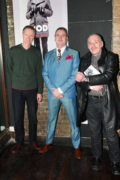 John Ingham, Richard Weight and Charles Shaar Murray