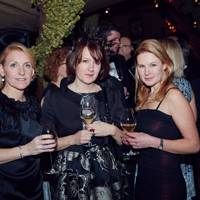 Sarah Heseltine, Rachel Trevor-Morgan and Eleanore Kelly