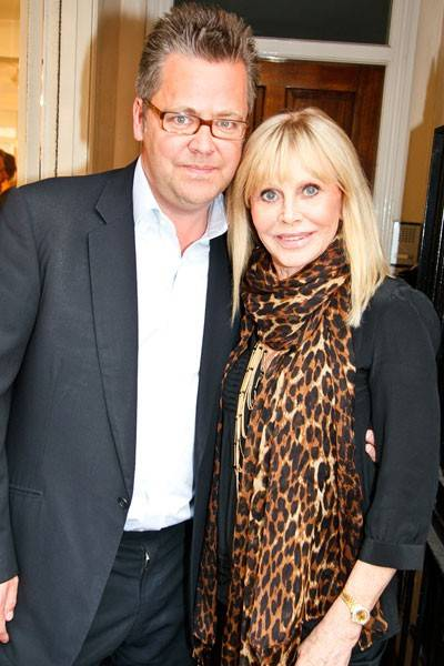 Charlie Phillips and Britt Ekland