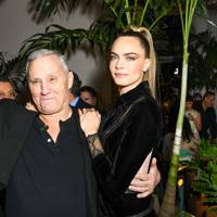 Ian Schrager and Cara Delevingne