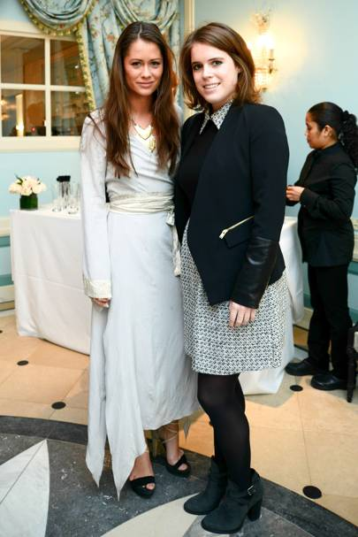 Lexi Bowes-Lyon and Princess Eugenie