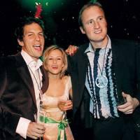 Adam Jay, Mrs Adam Jay and Alex Macpherson