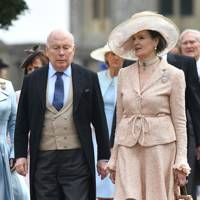 Lord Fellowes and Lady Fellowes
