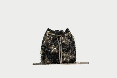 Zara sequin bag