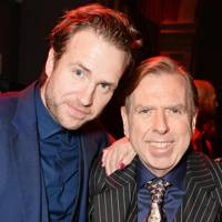 Rafe Spall and Timothy Spall