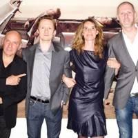 Gérard Rancinan, Ed Bartlett, Caroline Gaudriault and Jean-David Malat