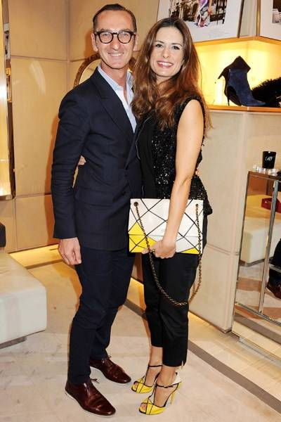 Bruno Frisoni and Livia Firth