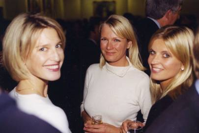 Nicola Formby, Jenny Swire and the Marchioness of Milford Haven
