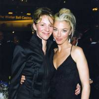 Annabel Elwes and Tamara Beckwith
