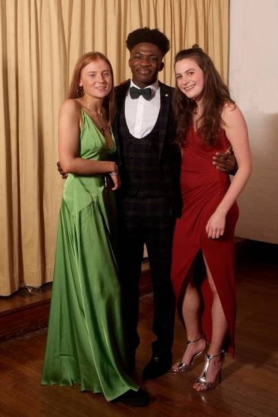 Clemmie Harris Stuart, Ope Ajanaku and Alice Gow