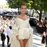 Celine Dion at Alexandre Vauthier couture