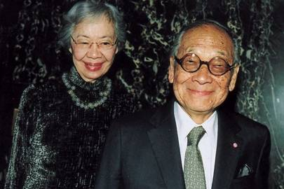 Mrs Im Pei and Im Pei