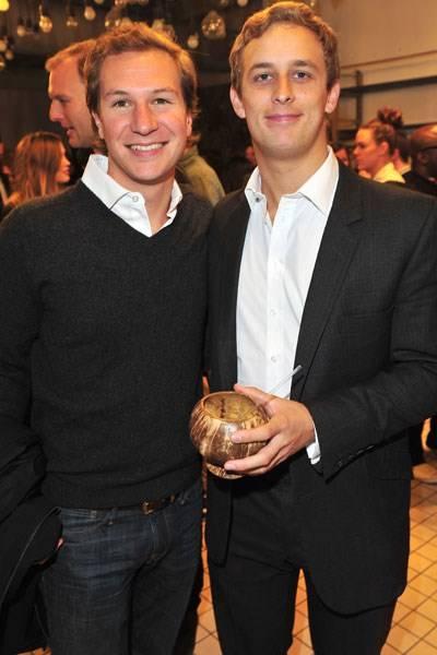 Dave Clark and Francesco Ciaidi