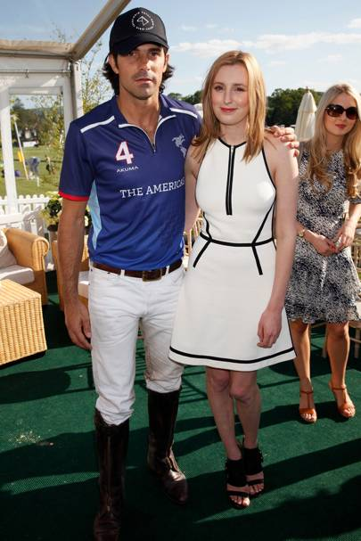 Nacho Figueras and Laura Carmichael