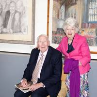 Sir Roger Bannister and Moira Bannister