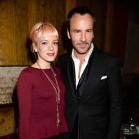 Lily Allen and Tom Ford
