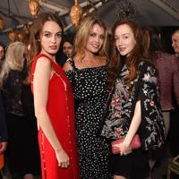 Lady Violet Manners, Lady Kitty Spencer and Olivia Grant