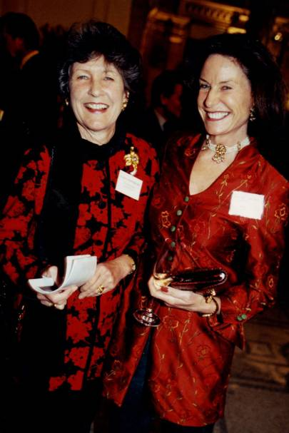 Lady Timothy Sainsbury and Jane Mitchell Ylvisaker