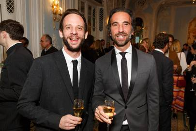 Chris Denney and Luca Longobardi