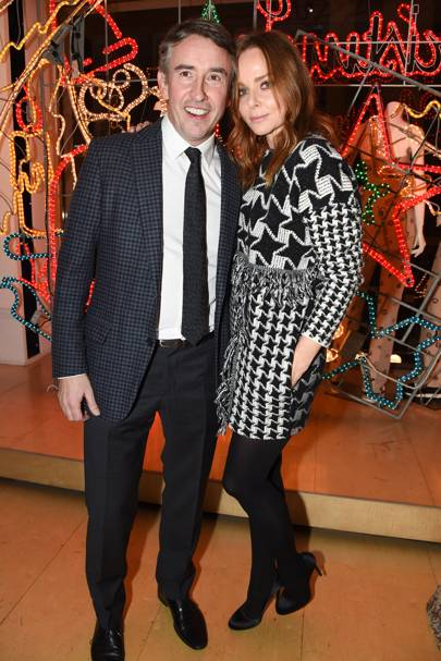 Steve Coogan and Stella McCartney