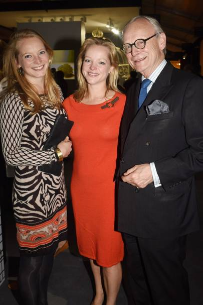 Cordella Selwyn-Gummer, Leonora Selwyn-Gummer and Lord Deben