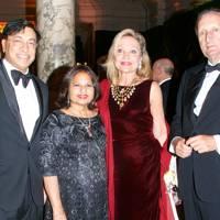 Lakshmi Mittal, Usha Mittal, Baroness Gerard de Waldner and Baron Gerard de Waldner